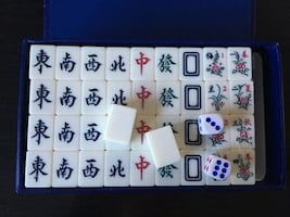 Travel size mini Mahjong Set