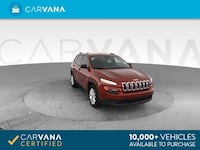 2015 *Jeep* *Cherokee* Sport SUV 4D suv RED Downey