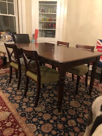 rectangular brown wooden dining table 39 km