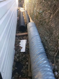Plastic and steel culverts