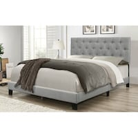 Queen size platform bed brand new