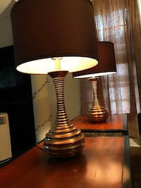 Set of brown lamps Lockport, 14094