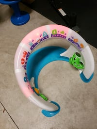 Touch and lights baby/toddler toy station