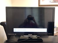 black Samsung flat screen TV Woodbridge, 22192