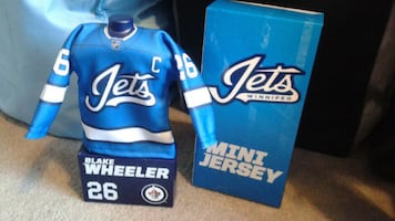 Blake Wheeler's mini jersey