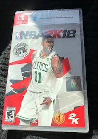 Nba 2k18 for nintendo switch (new in retail packaging)