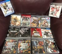 Variety of PS3 Games. Excellent condition! with 1 PS4 Gam Brampton, L6Y 4G6