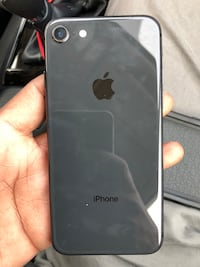 Black iphone 8with case Toronto, M1G
