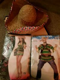 Sexy Shooter & Tequila dude costume 268 mi