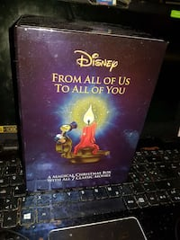 Disney DVD box med 7 julefilmer