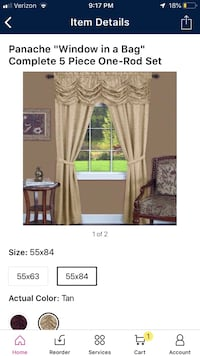 Window covering curtains Simpsonville, 29681