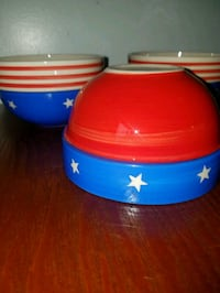 PATRIOTIC 3-BOWL Set Fairfax, 22032
