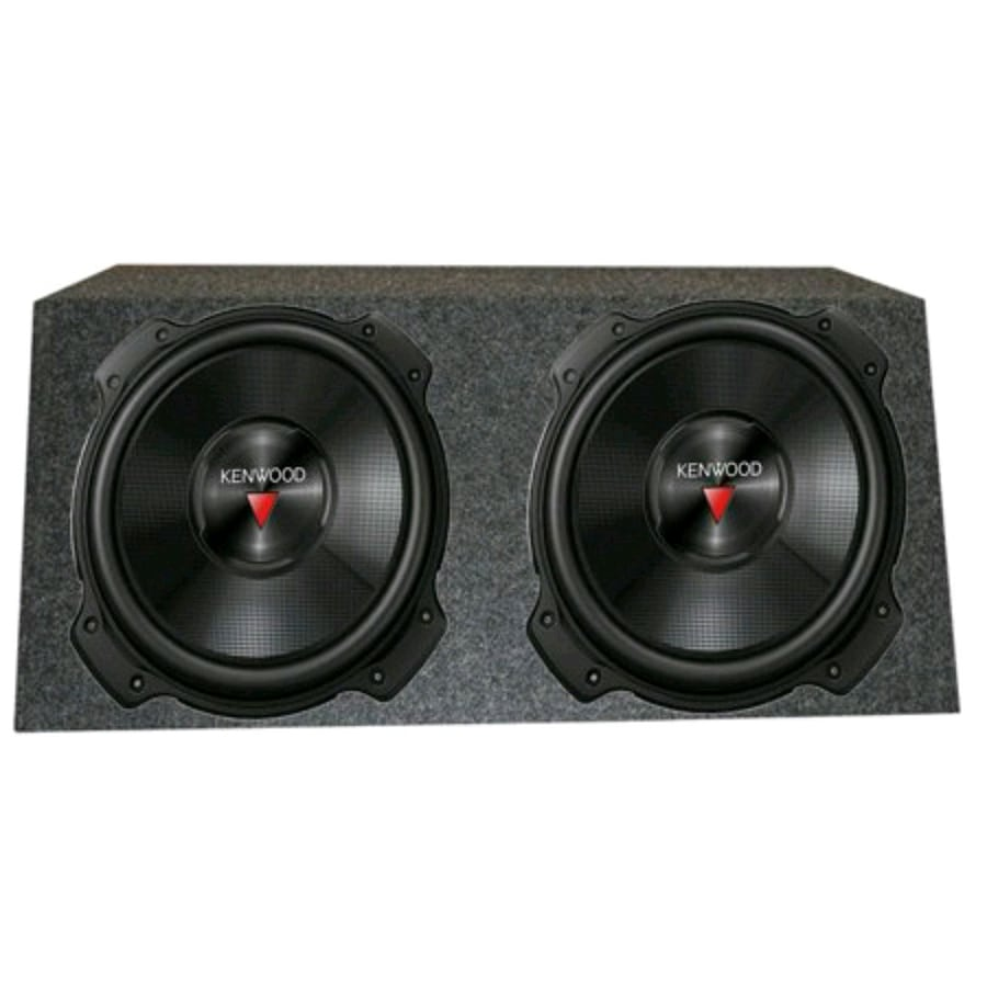 Pair of 12 inch kenwood subs