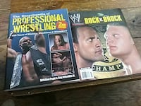 Wrestling book and magazines