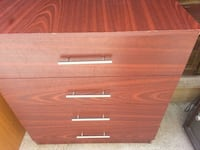 brown wooden 4-drawer chest Pudsey, LS28