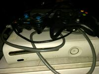 black Xbox 360 with controller 283 mi