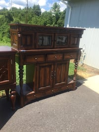 Buffet cabinet server tv stand  Luray, 22835
