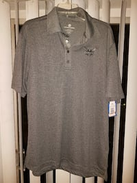 Charlotte hornets men's polo new L