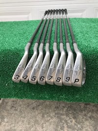 Top Flite Tour 8 Iron Set, 3 -PW, Graphite Shafts, Performance Flex Houston, 77064