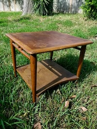 brown wooden 2-layer table Corpus Christi, 78418