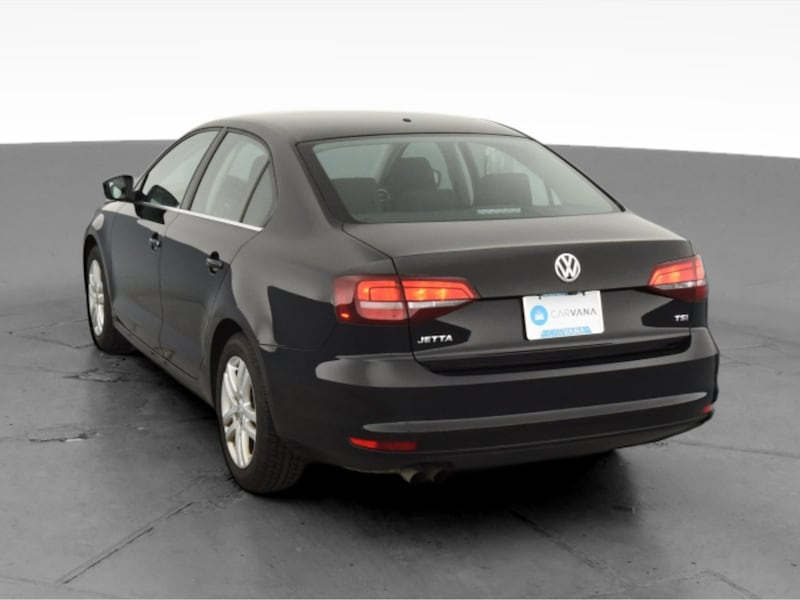 2017 VW Volkswagen Jetta sedan 1.4T S Sedan 4D Black <br /> 7