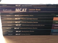 Kaplan MCAT 4th Edition Home Study Kit Review Books Reston, 20191