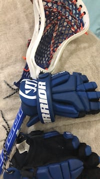 custom lacrosse stick and gloves Chevy Chase, 20815