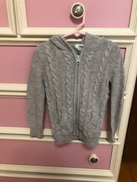 gray Old Navy Zip up sweater Fall River, 02721