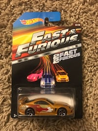 Fast and furious hot wheels, $5 a piece