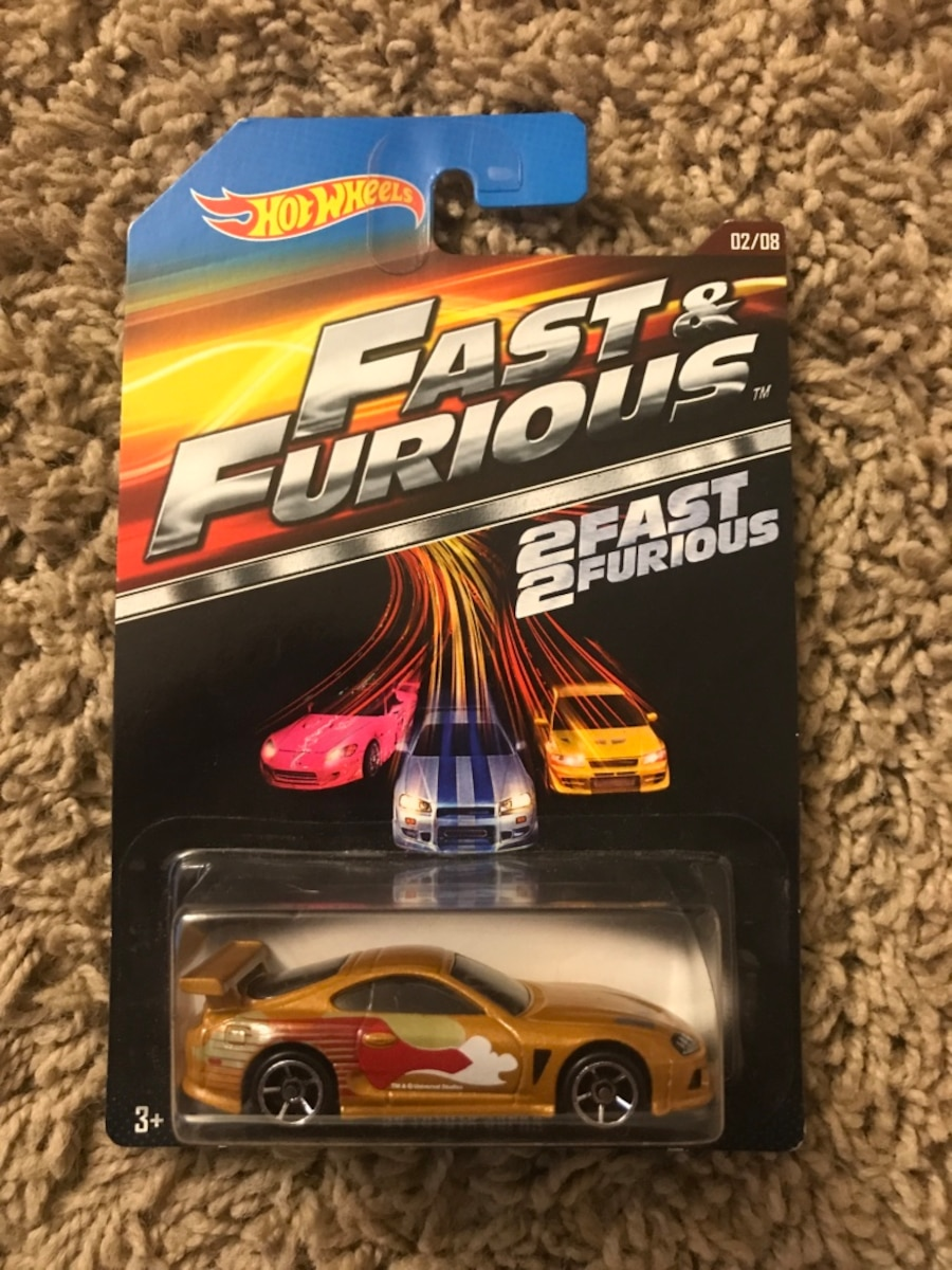 Fast and furious hot wheels, $5 a piece - United States