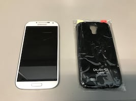 Samsung Galaxy S4 and Case