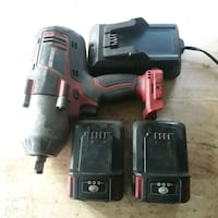 """1/2"""" 20V Impact Gun Earthquake XT w/ charger and extra battery Yonkers, 10705"""