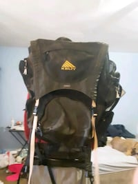 kelty hiking back pack with handle. Great shape.