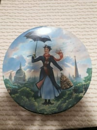 Disney Mary Poppins collector plate.  Whitby, L1P 1A1