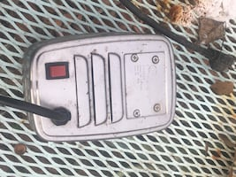 Vintage Drive-In Theatre Car Speaker. Condition unknown, Priced as is.