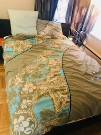 Duvet cover, double size with one pillow cover Vancouver, V6H 1J2