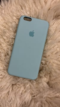 iPhone 6/6s plus Apple Tiffany blue silicone case