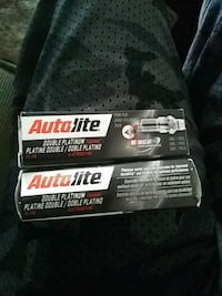 two Autolite component boxes spark plugs Lamar, 64759
