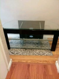 black and brown wooden TV stand Boise, 83702