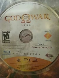God of war disc 2 only Peoria, 61606