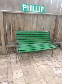 Patio bench Fresno, 93728