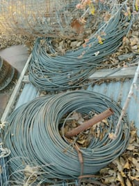 Steel Cable ( used ) different sizes  available Harrah, 73045