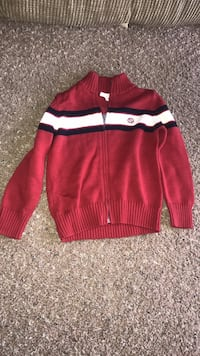 Red and white nike zip-up jacket Kissimmee, 34746