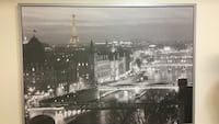 gray framed lighted buildings photo Montreal, H1T 1B2