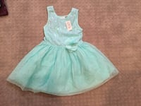 Brand New Little Girl's Sparkly Teal Dress Xenia, 45385