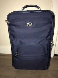 American Tourister Dark Blue Carry on Suitcase