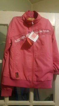 red and white zip-up jacket Winnipeg, R3G 2Y4