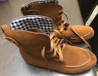 New brown boots size 11 Vaughan, L6A 1X1