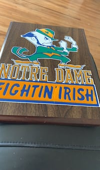 Wood fighting Irish plaque Omaha, 68132