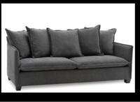 Grey sofa from structube
